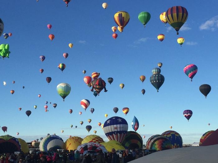Balloon Fiesta –Albuquerque