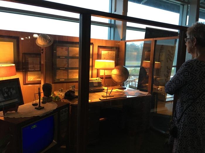 Werner von Braun's office
