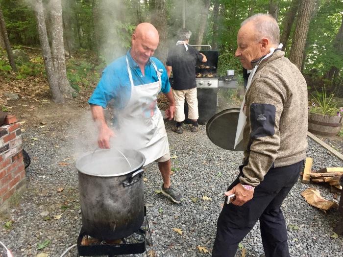 Russ cooking