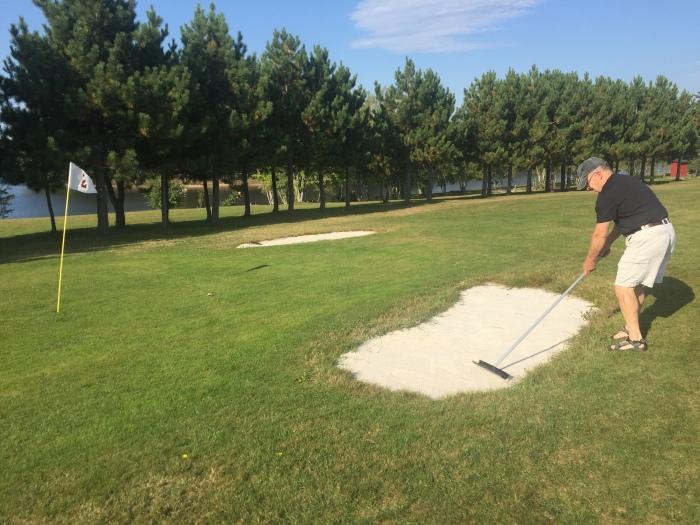Sand trap duty