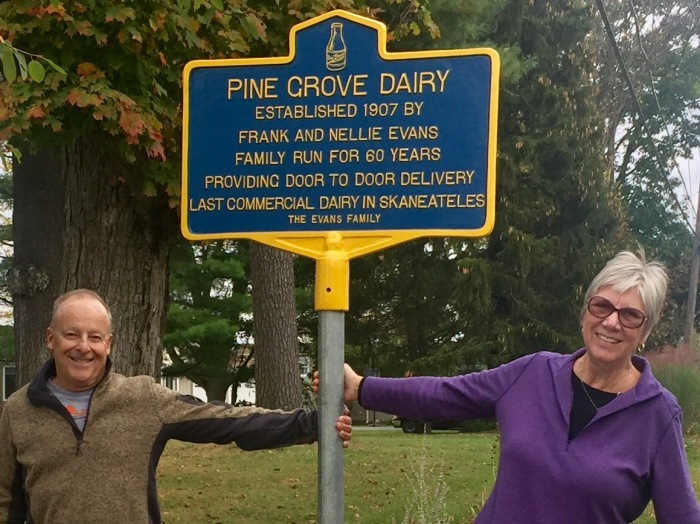 Pine Grove sign