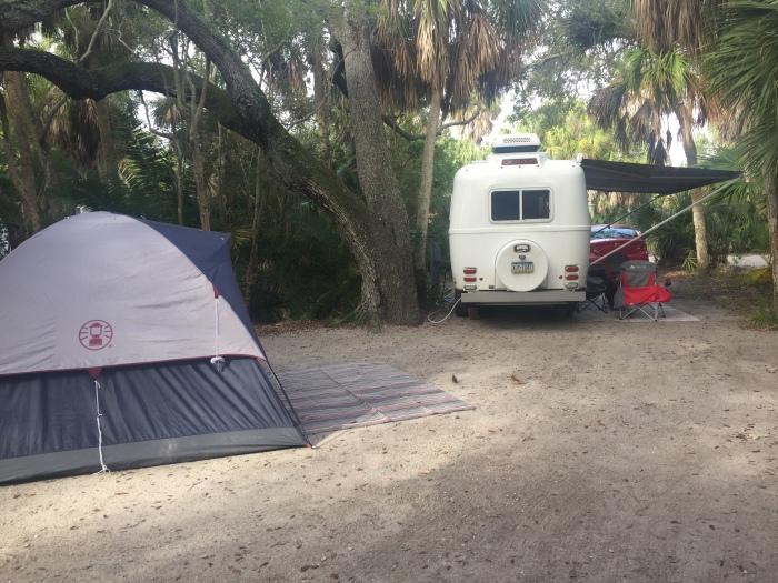 Fort DeSoto Campsite.JPG