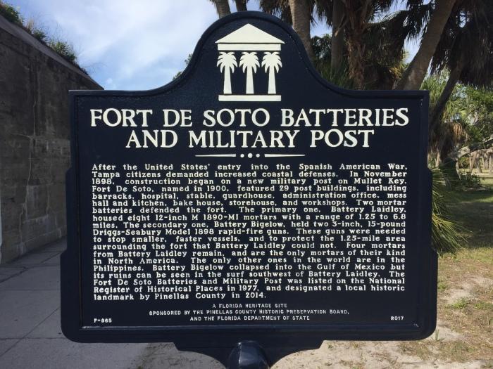 Fort DeSoto Sign.JPG
